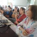 Mesa coordenada pela Professora Sandra Gadelha da FAFIDAM