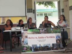 Mesa sobre Mulheres, Saúde e Território na V Semana Zé Maria do Tomé