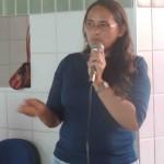 Socorro Oliveira da comunidade do Tomé