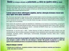 Movimentos Sociais lançam Nota Pública denunciando os impactos do agronegócio sobre a saúde das populações do Baixo Jaguaribe