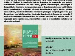 Diferentes formas de dizer NÃO: lançamento de livro em Fortaleza