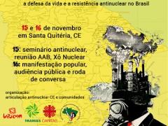 ARTICULAÇÃO ANTINUCLEAR DO CEARÁ PROMOVE II JORNADA