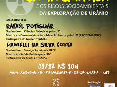 Mineração de urânio no Ceará em debate na UFC