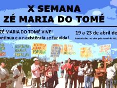 X SEMANA ZÉ MARIA DO TOMÉ